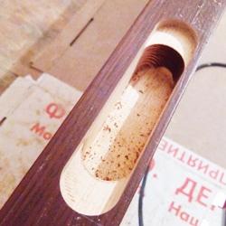 Фреза спиральная d8x35x90xD12 REISS, нижний рез