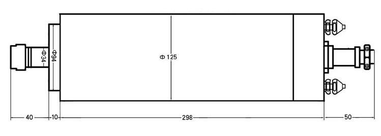 Шпиндель 4.5кВт (380В, ER25)