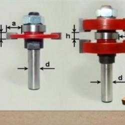Комплекты фрез для шипового соединения L25