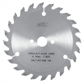 Пильный диск для ручной электропилы Pilana 5391 WZ