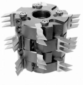 Фрезы сборные для обработки шипов для сращивания древесины ДФ-24.06