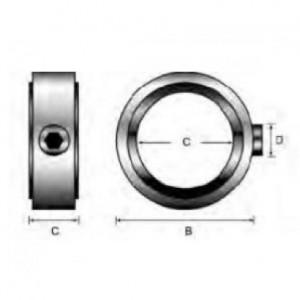 Стопорное кольцо для фрез B=8 C=6,4 D=M4 901031