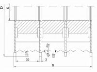 Комплект фрез для изготовления фасонных изделий ДФ-13.79
