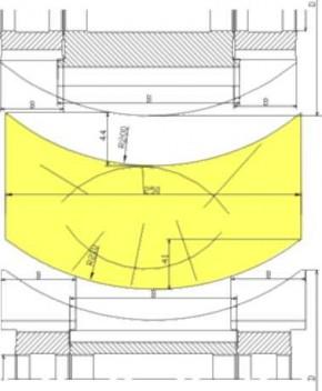Комплект фрез для изготовления стенового бруса ВН-31